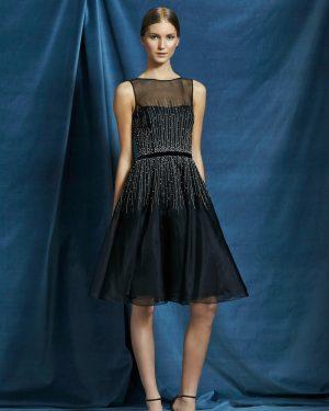 שמלת ערב אבני סברובסקי