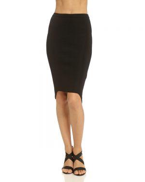 חצאית עיפרון שחורה