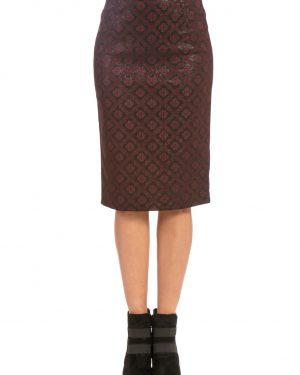 חצאית עיפרון ז'קארד