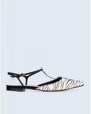 נעלי שפיץ זברה