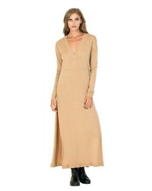 שמלת מקסי כיסים